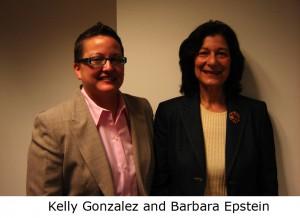 Kelly Gonzalez and Barbara Epstein