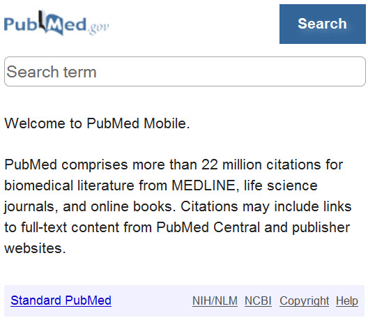 PubMedMobileSearch