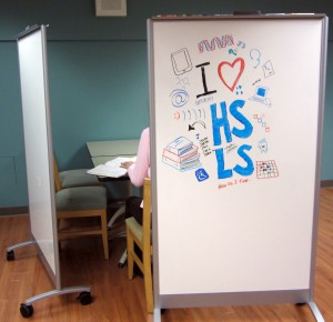 Create a private study space or just doodle!