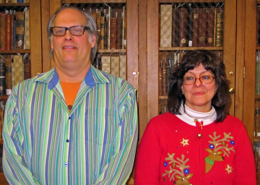 Rob Rayshich and Mary Gail Merlina
