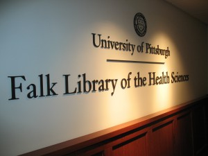 Falk_Library_sign