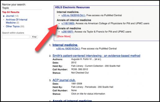 Figure 2: Electronic resource box