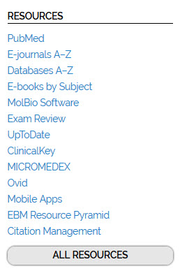 Resources menu screenshot