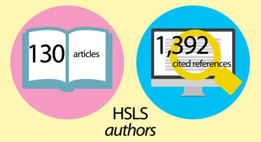 HSLS authors, 130 articles, 1392 cited references
