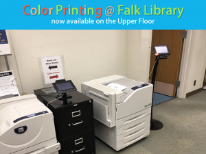 Color Printer Falk Library