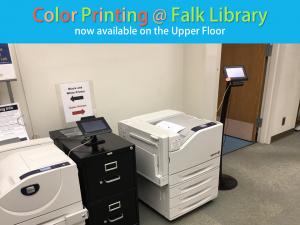 Color Printer Falk Library