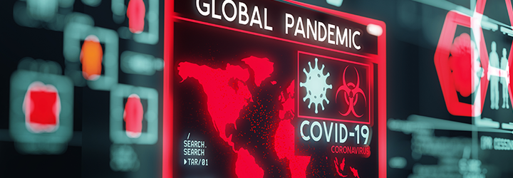 COVID-19 Global Pandemic affecting the world